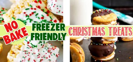 No Bake Christmas Cookies and Bars Easy Freezer Friendly Christmas Sweet Treats