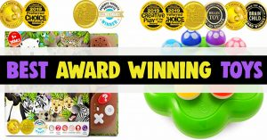 Award Winning Toys! Best award winning toys and toy awards 2019 for 1 years olds, 2 years olds, 3 year olds and all toddler boys and girls. Toy of the Year awards!