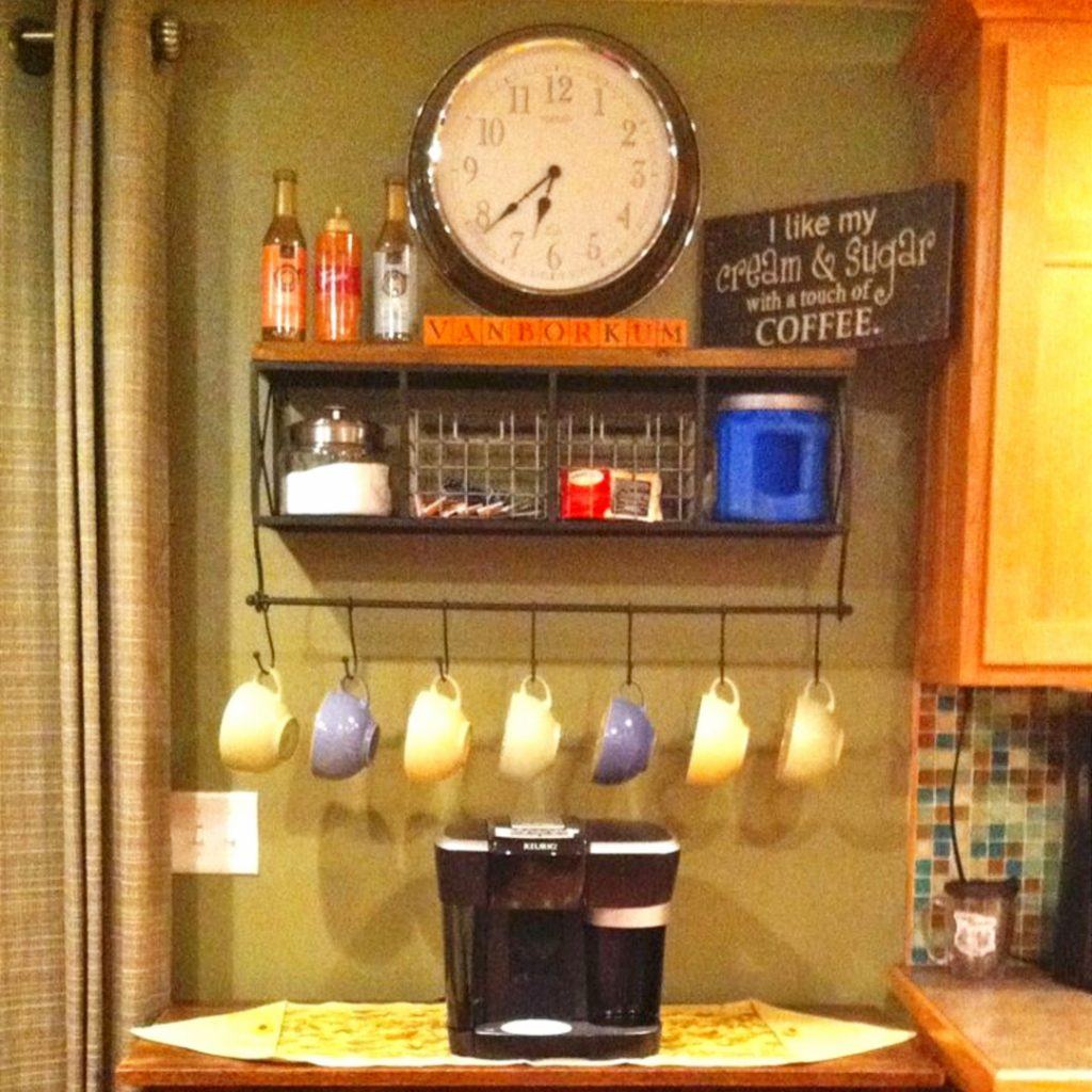 Diy Coffee Station Ideas Home Coffee Bars Ideas Amp Pictures