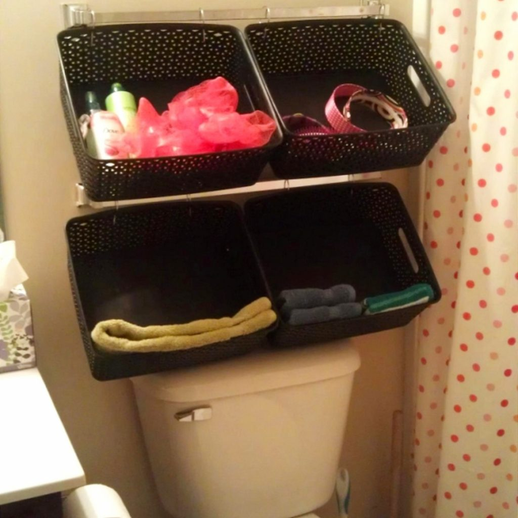 Creative DIY Storage Solutions for Small Spaces, Small Rooms, Small Houses, Apartments, Cottages and Condos.  Storage hacks and organization ideas to get more room for organizing clutter and other stuff