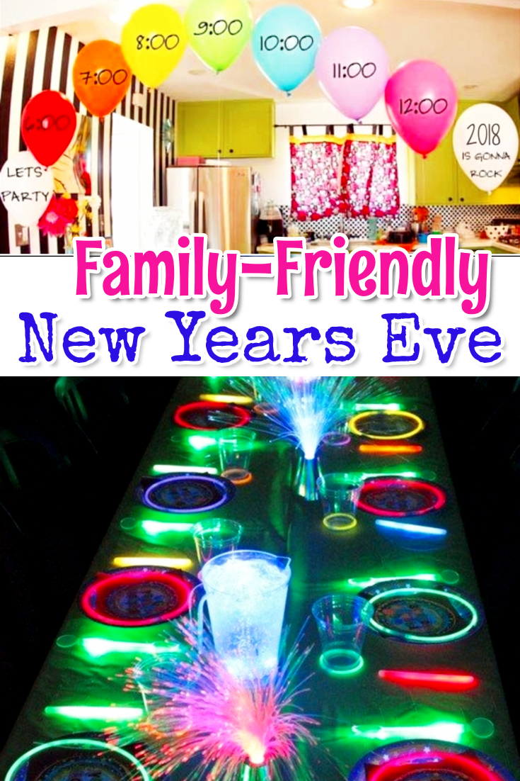 Family friendly New Years Eve ideas - Ideas for kids on New Years Eve