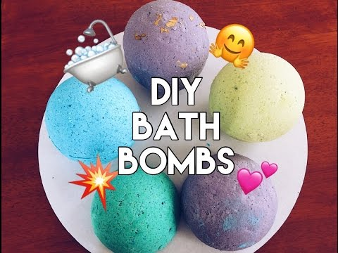 Fun and easy diy bath bombs bath bomb recipes to make at home diy bath bombs without citric acid solutioingenieria Images