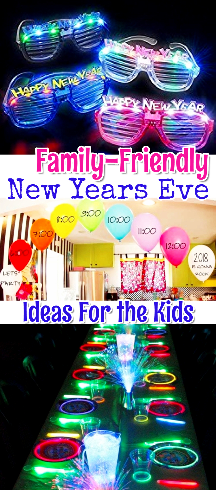 Ideas for Kids on New Years Eve