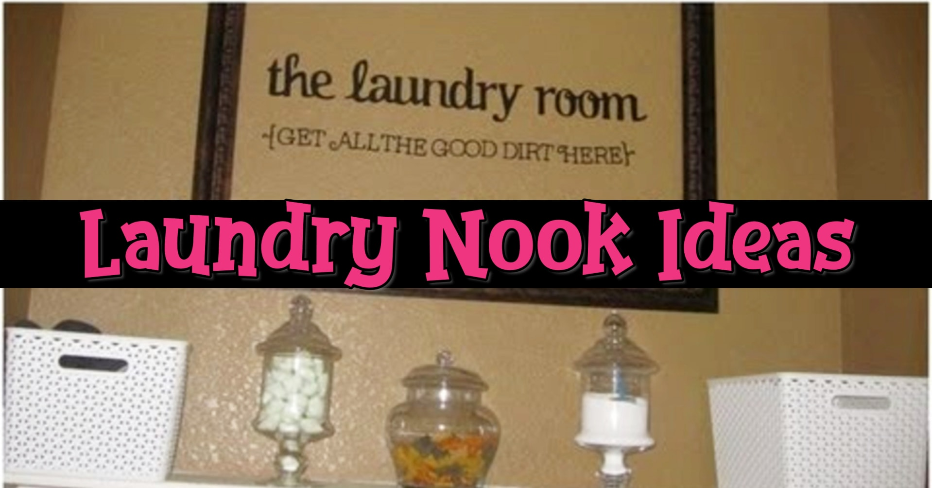 Laundry nook ideas - convert any area into a laundry nook laundry room