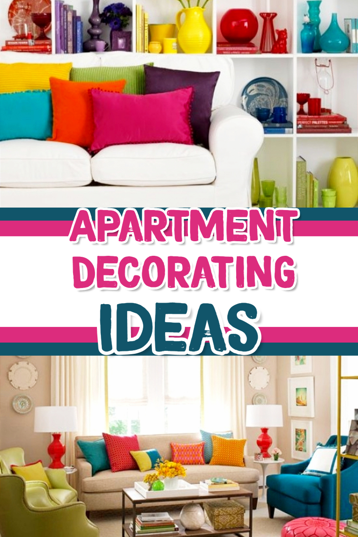 Apartment Decorating Ideas - DIY cute apartment decor - great college apartment decorations and decorating ideas too. beautiful bright decor ideas