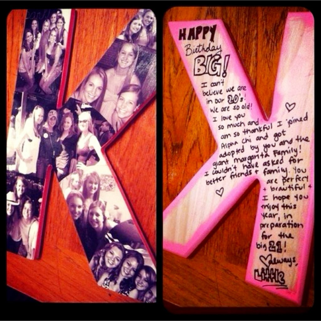 DIY Photo Letters - love all these ideas to make a picture collage on a wood letter