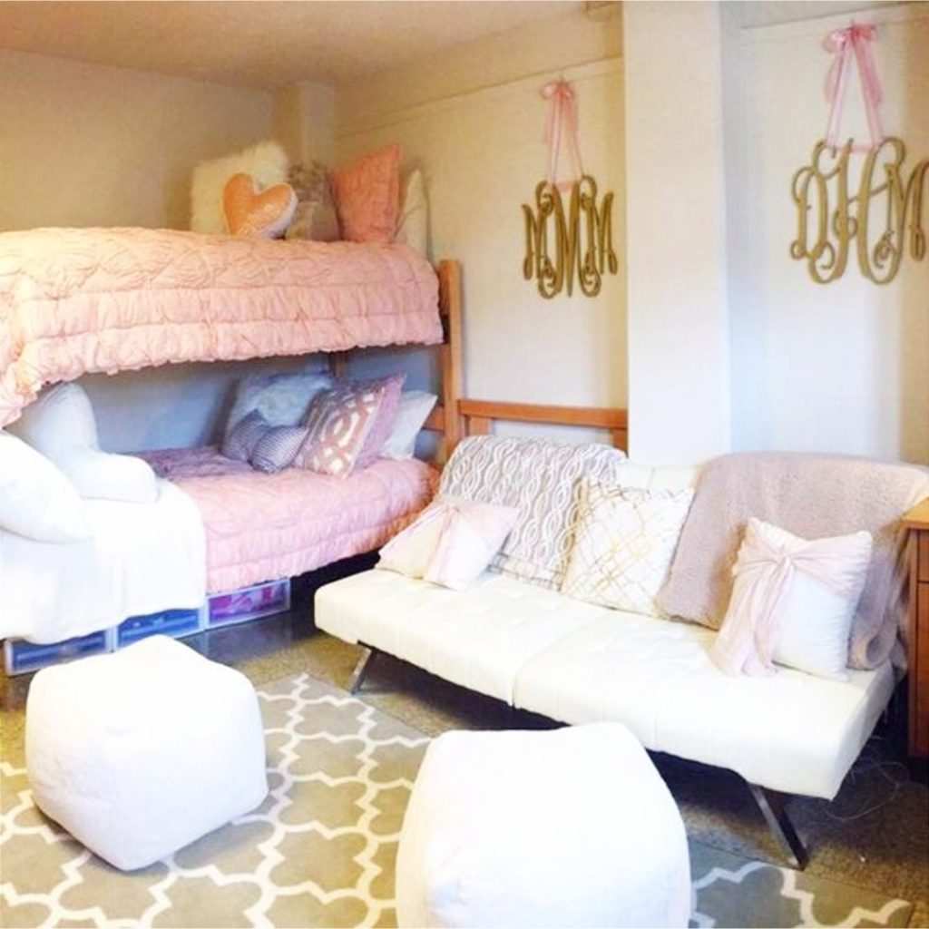 Dorm room ideas for heading to college with class #dormroomideas #gettingorganized #goals