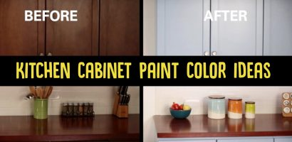 Painting Kitchen Cabinets Ideas Before and After- Popular Colors & PICS