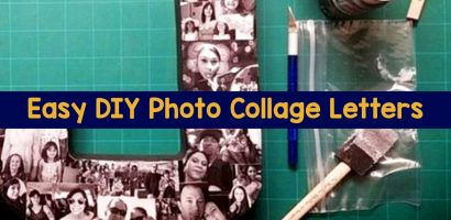 DIY Picture Collage Letters Ideas – We Tried It! Let's Make a Photo Collage on Wood