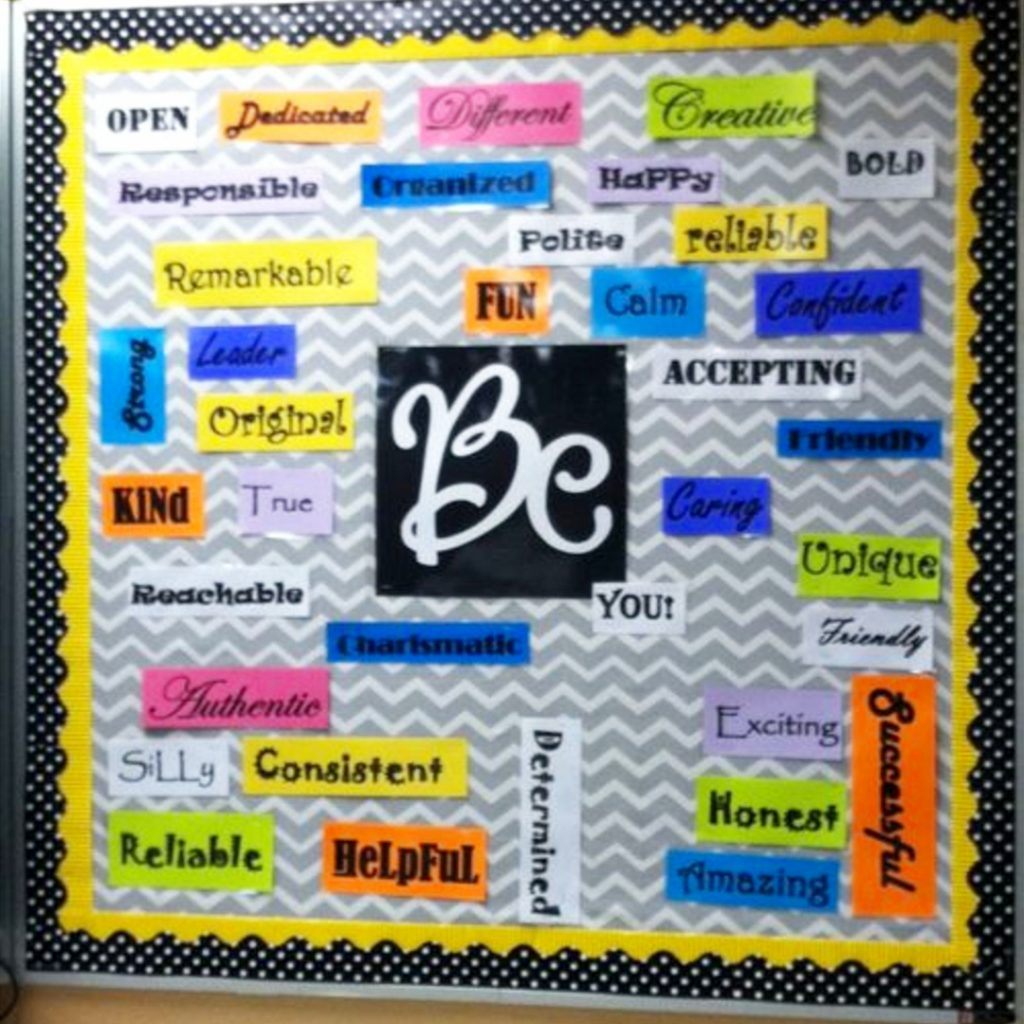 Bulletin Boards Ideas for Teachers and Classrooms (high school, primary school, kindergarten, pre-k, middle school etc) #classroombulletinboards #schoolbulletinboards #bulletinboards #teacherbulletinboards #motivationalbulletinboards #classroomdecor
