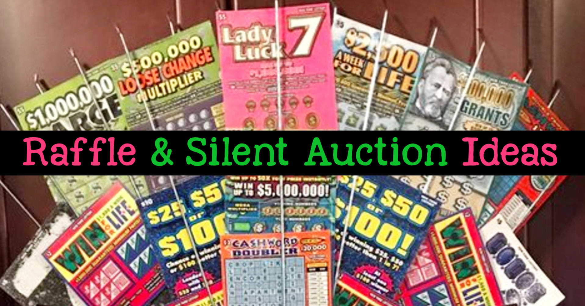 raffle and silent auction fundraiser ideas