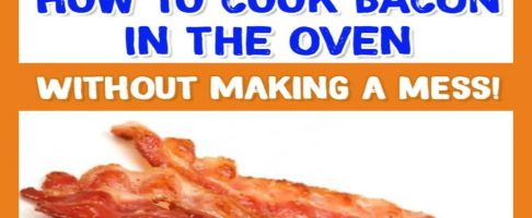 How To Cook Bacon In The Oven WITHOUT Making a Huge Mess!