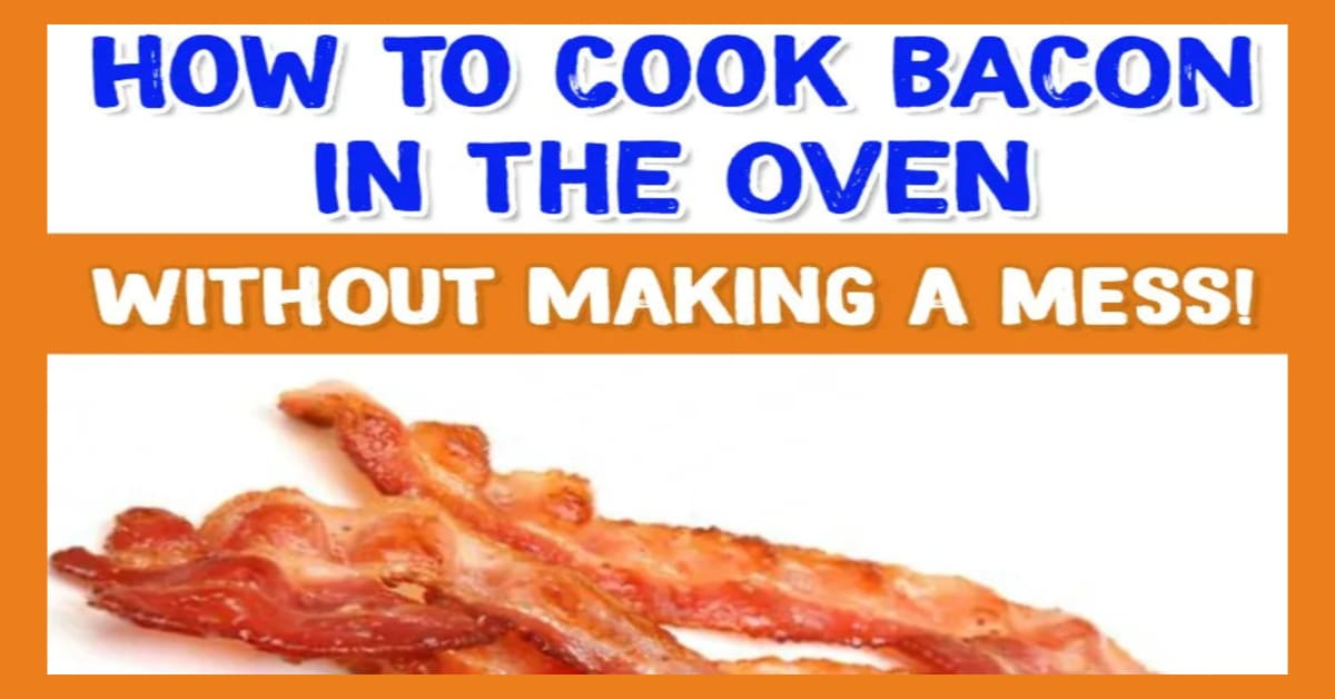 Bacon! How to cook bacon in the oven