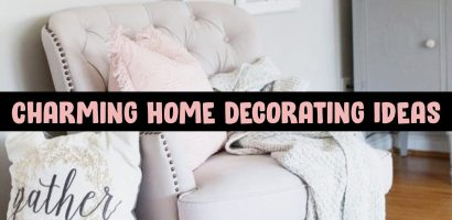 Home Decor on a Budget – Charming and Cozy DIY House Decorating Ideas & Pictures