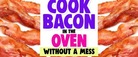 Cook BACON in the Oven WITHOUT Mess Like Rachael Ray-But BETTER