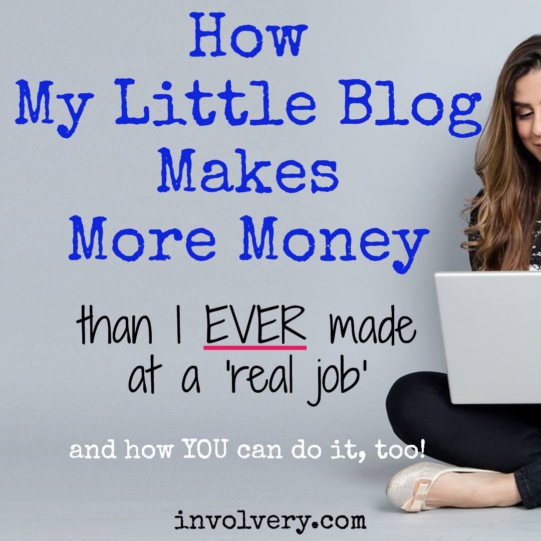 How my blog makes money - and how you can do it too.