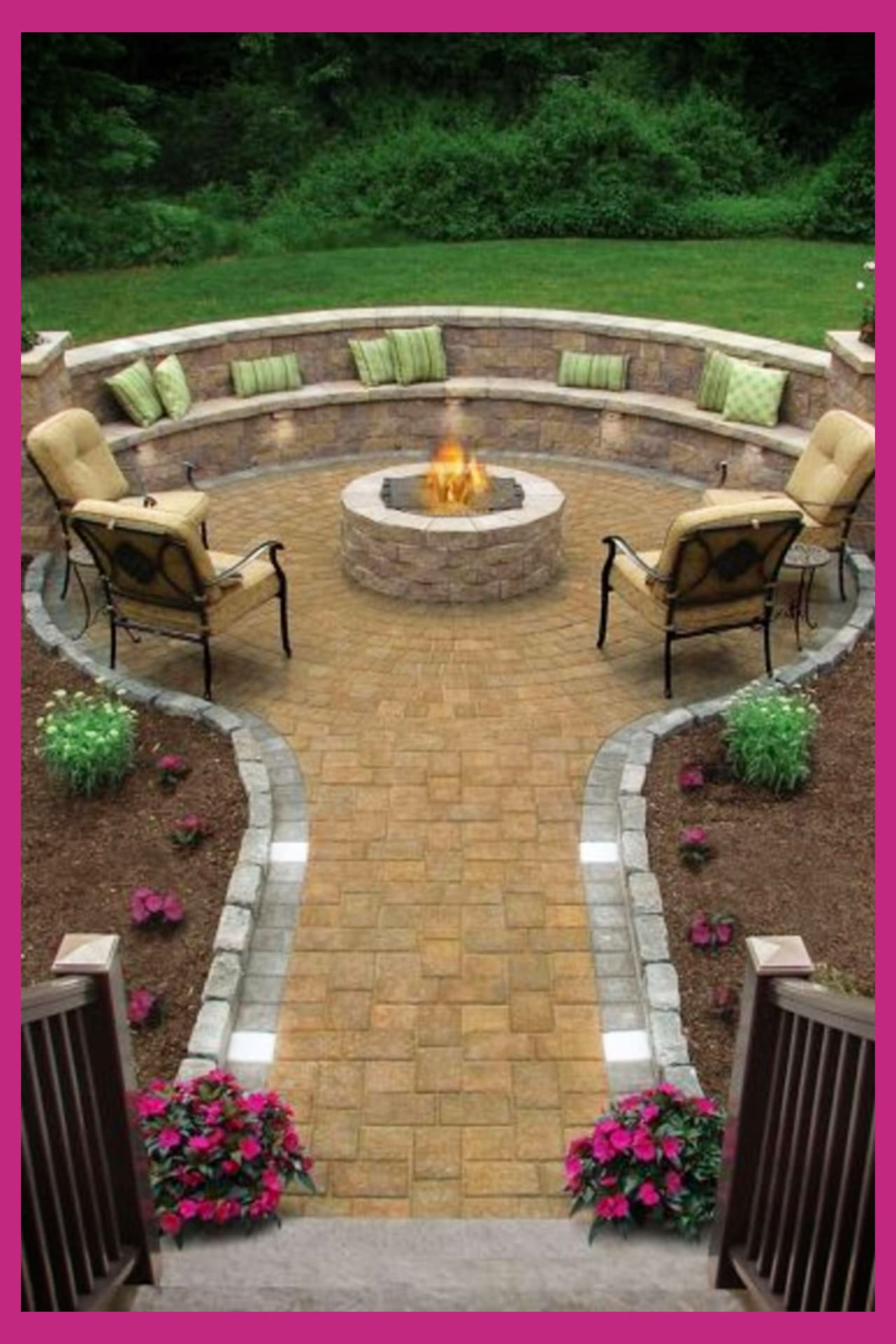 outdoor fire pit seating ideas for your backyard firepit