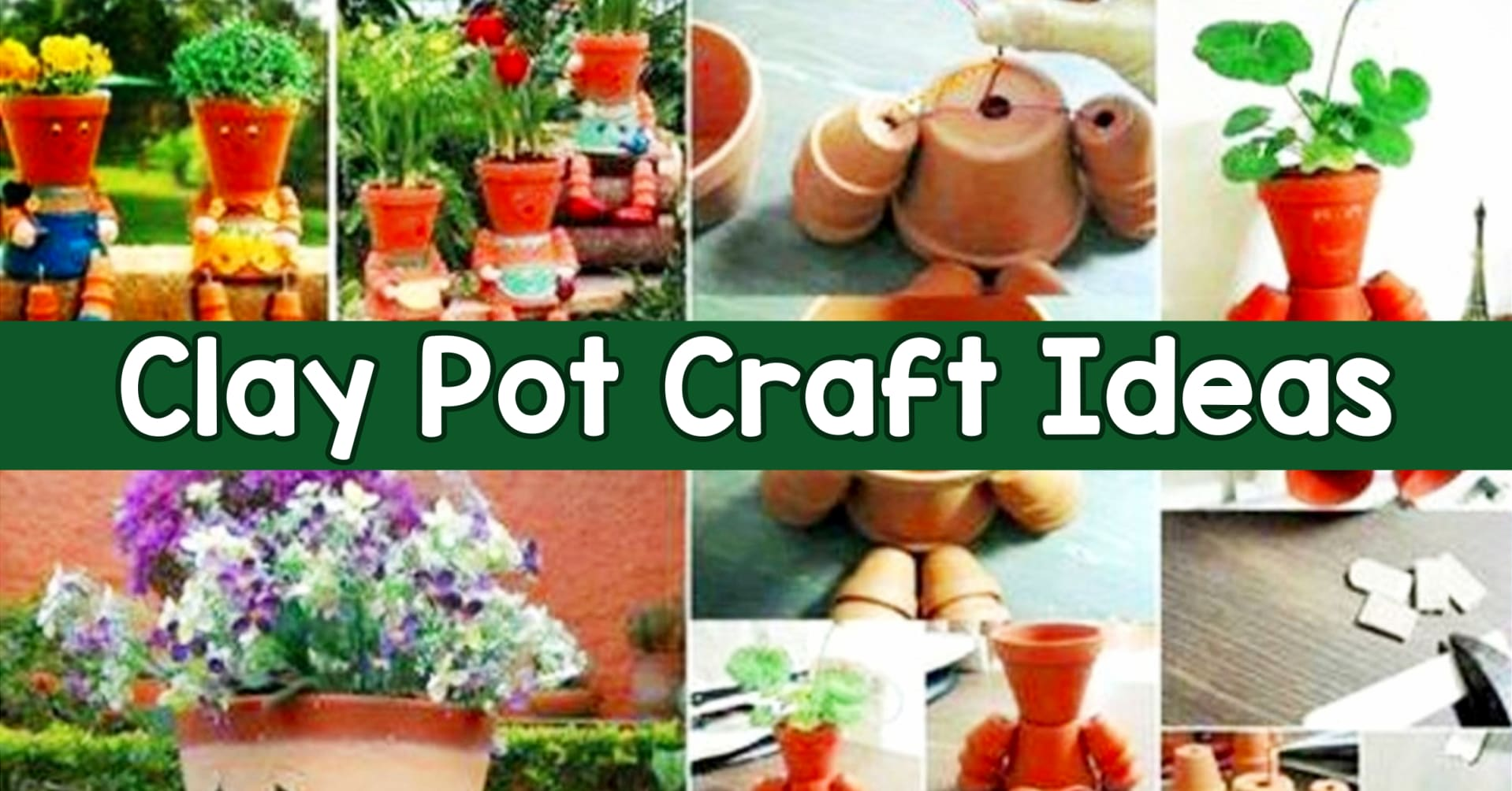 Decorative terra cotta pots - how to decorate clay pots for flowers and more craft ideas for clay pots for your yard, patio or home