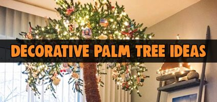 Artificial Lighted Palm Trees Beautiful Fake Light Up
