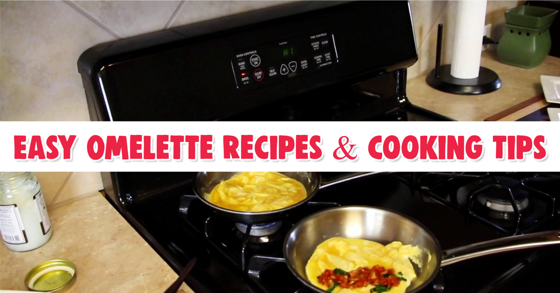Easy Omelette Recipes - French Omelette Stainless Steel Pan - How to make omelettes easy video - Omelette recipes - how to make an omelette that doesn't stick to the pan - cook omelette in stainless steel pan - how to make an omelette videos