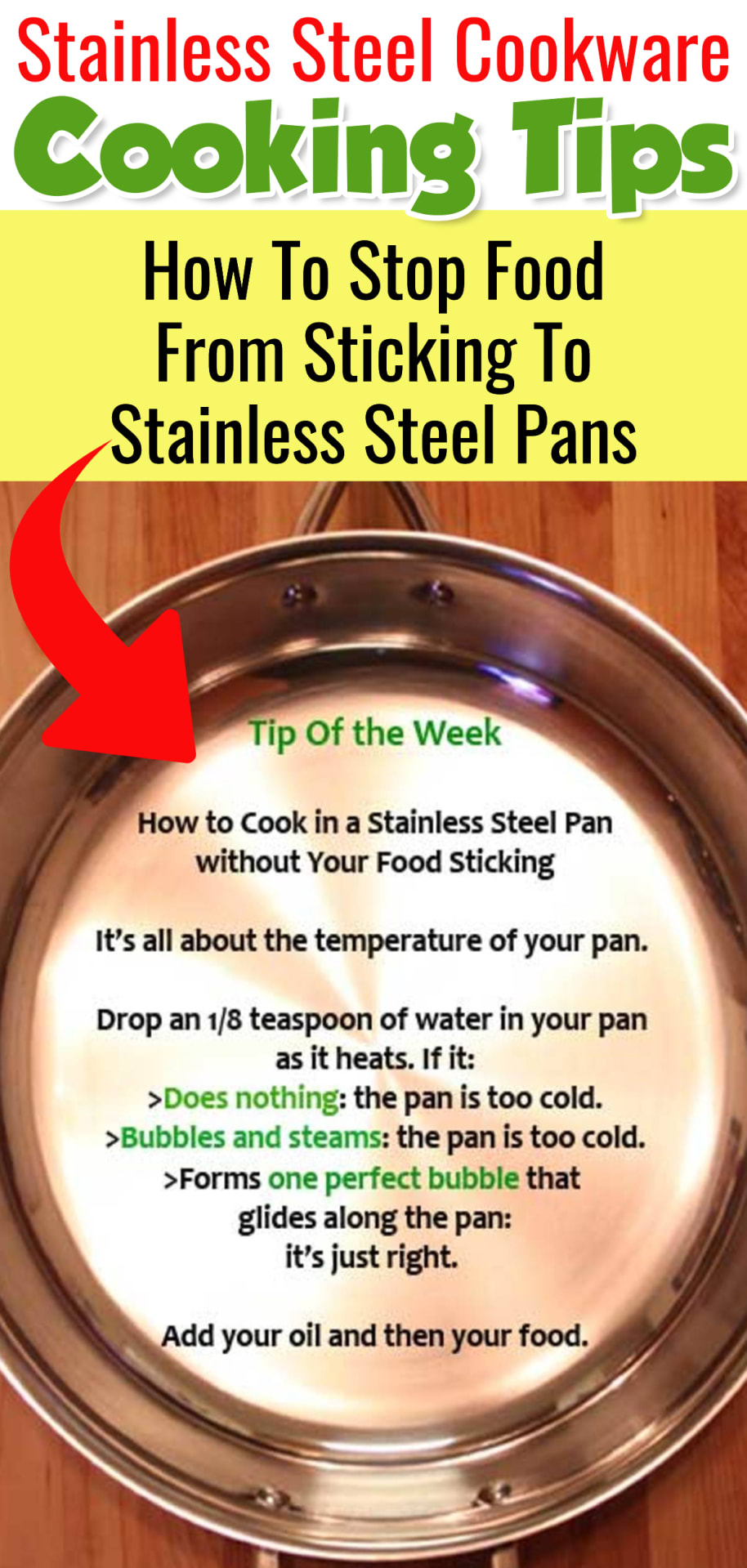 Stainless steel cookware cooking tips - how to cook with stainless steel pans tips - how to stop stainless steel pans sticking - cooking videos for beginners - cooking tips and tricks - easy breakfast recipes and easy omelette recipes - how to make an omelette videos