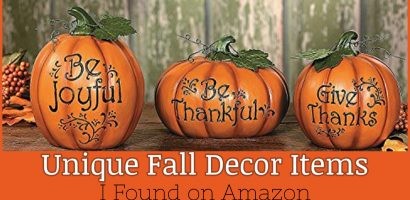 Autumn Decor Ideas – 21 Unique Autumn Decorations I Found On Amazon