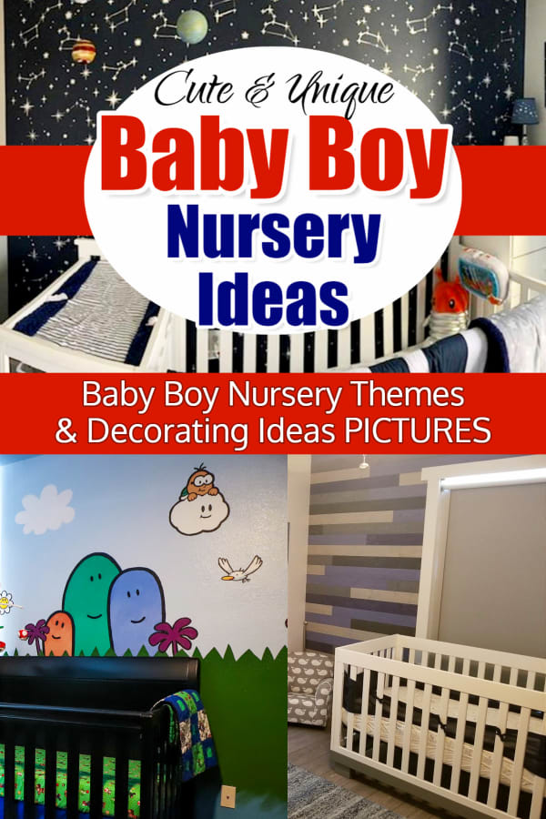 Baby Boy Nursery Ideas for a Pinterest-Perfect Baby Boy's Room... on a budget. Baby Room Ideas Boy nursery themes - pictures modern, stars,blue, rustic woodland, blue and grey boy nursery theme ideas