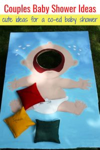 Co-Ed Baby Shower Games and Ideas for Couples Jack and Jill Baby Shower
