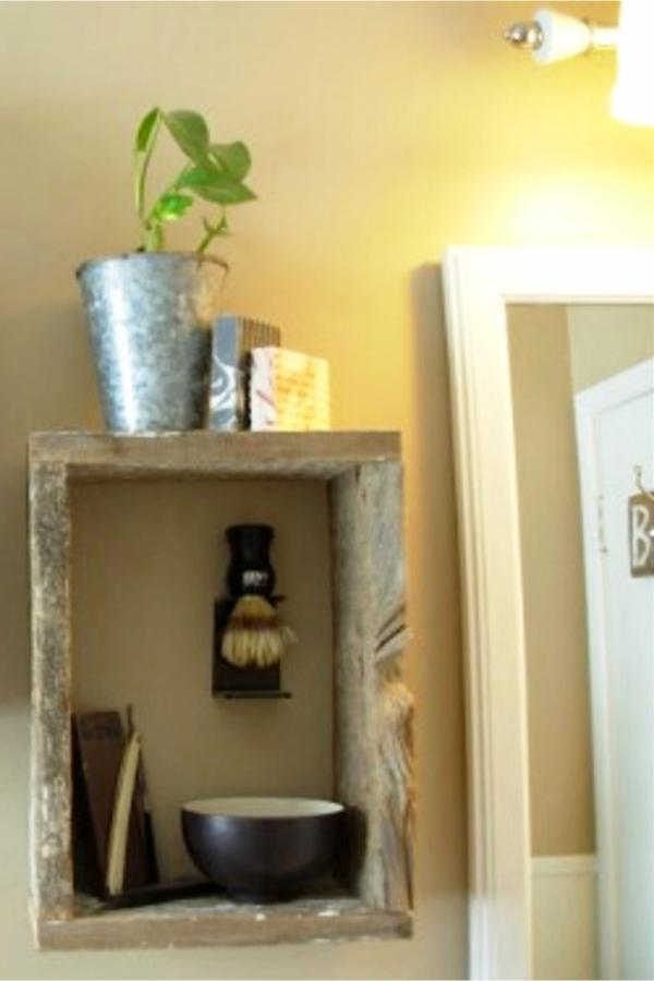 Easy Rustic Bathroom Decorating ideas - Easy DIY Rustic Home Decor Ideas on a Budget