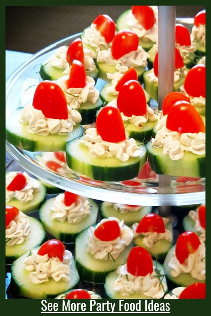 Simple summer party appetizer and salads ideas