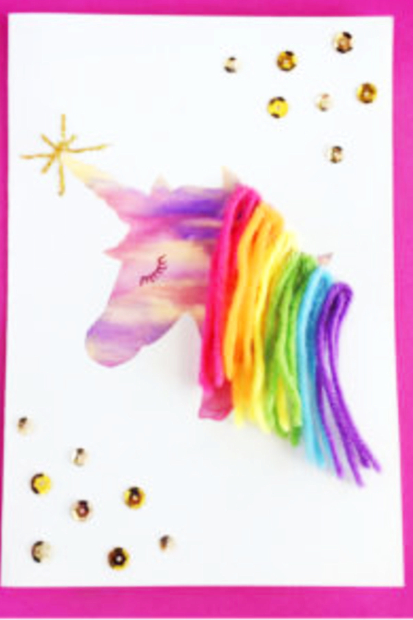 Fun and easy Unicorn Crafts and Craft Ideas for Kids To Make at Home or at School