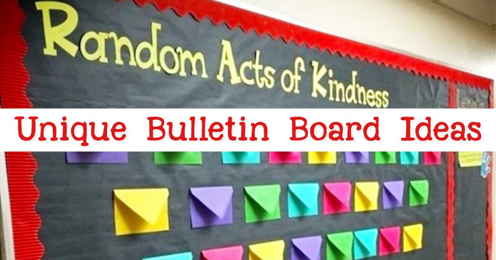 Unique Bulletin Board Ideas For Teachers New For March 2020
