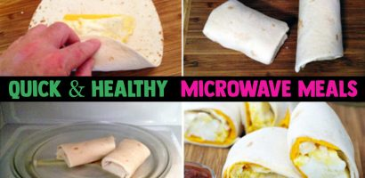 Quick Healthy Microwave Meals – Healthy Microwave Recipes For Breakfast, Dinner or a Healthy Snack