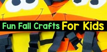 Fall Crafts For Kids of All Ages – Fun and Easy Fall Crafts and Craft Projects for Kids to Make