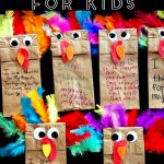 Fun and easy Thanksgiving Crafts for Kids to Make at School, Pre-K, at Home or Sunday School