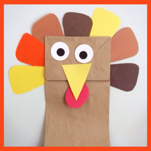 Thanksgiving crafts for preschoolers and Pre K - fun and easy Thanksgiving arts and crafts