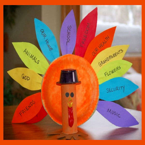 Pre-K Thanksgiving Arts and Crafts - Easy Thanksgiving art for Pre K and Preschool