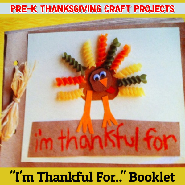 Thanksgiving crafts for Sunday School - Pre-k Crafts for Thanksgiving - fun and easy Thanksgiving crafts for preschoolers