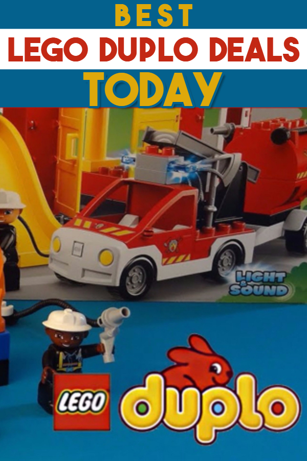 Best Lego Duplo Deals TODAY - when it comes to the HOTTEST Christmas toys kids want this Christmas, LEGO Duplo building blocks are very popular toys.  If you're Christmas toy shopping on a budget, look at these LEGO Duplo deals for Christmas and get the cheapest LEGO Duplo blocks.