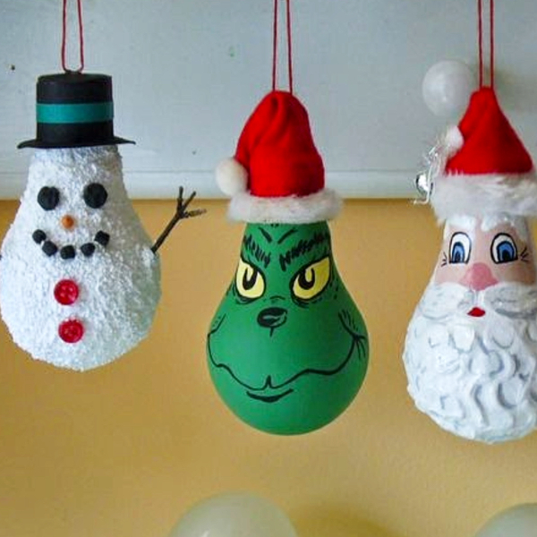 Grinch Christmas Ornaments to Make - DIY Grinch Decorations and Christmas Ornaments
