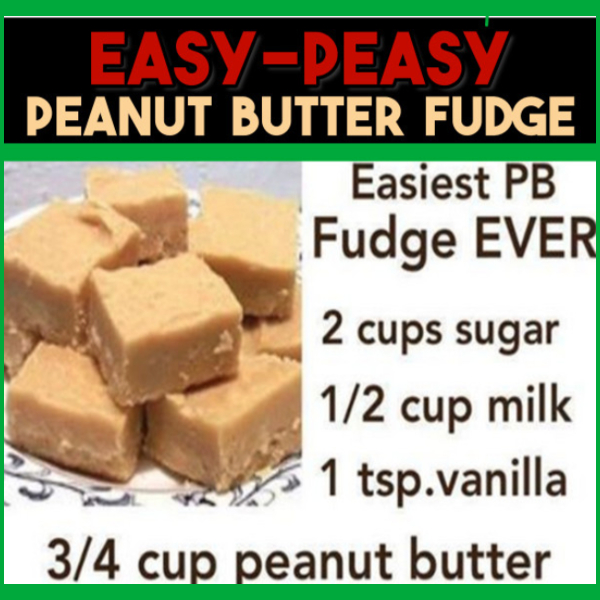 This EASY peanut butter fudge recipe is SO good and only takes minutes to make. 4 Ingredients in this creamy peanut butter fudge. EASY Christmas fudge with a simple 4 ingredient recipe.