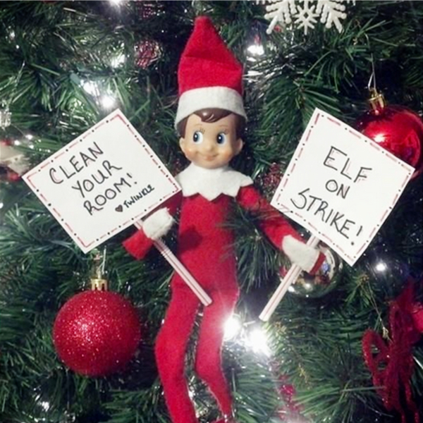 Elf Fun and Elf Antics! 101 Elf on the Shelf ideas and Elf on the Shelf pranks. Super easy last minute elf on the shelf ideas for kids that are original and unique. If you need quick and easy Elf on the Shelf ideas for tonight, take a look at the clever Christmas elf ideas, pranks, mischief and other different/funny ideas for your Elf on the Shelf - even if your kids are being