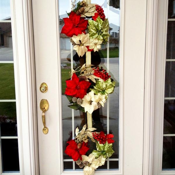 Triple Christmas wreath ideas