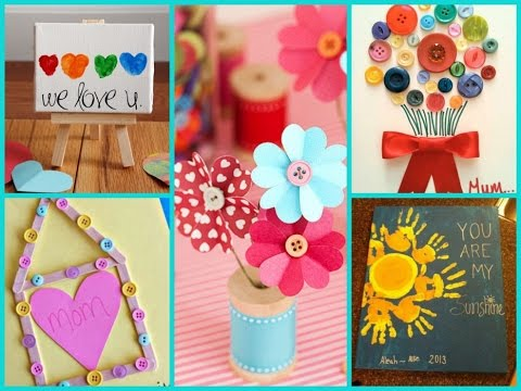 Easy Diy Gifts For Mom From Kids Involvery
