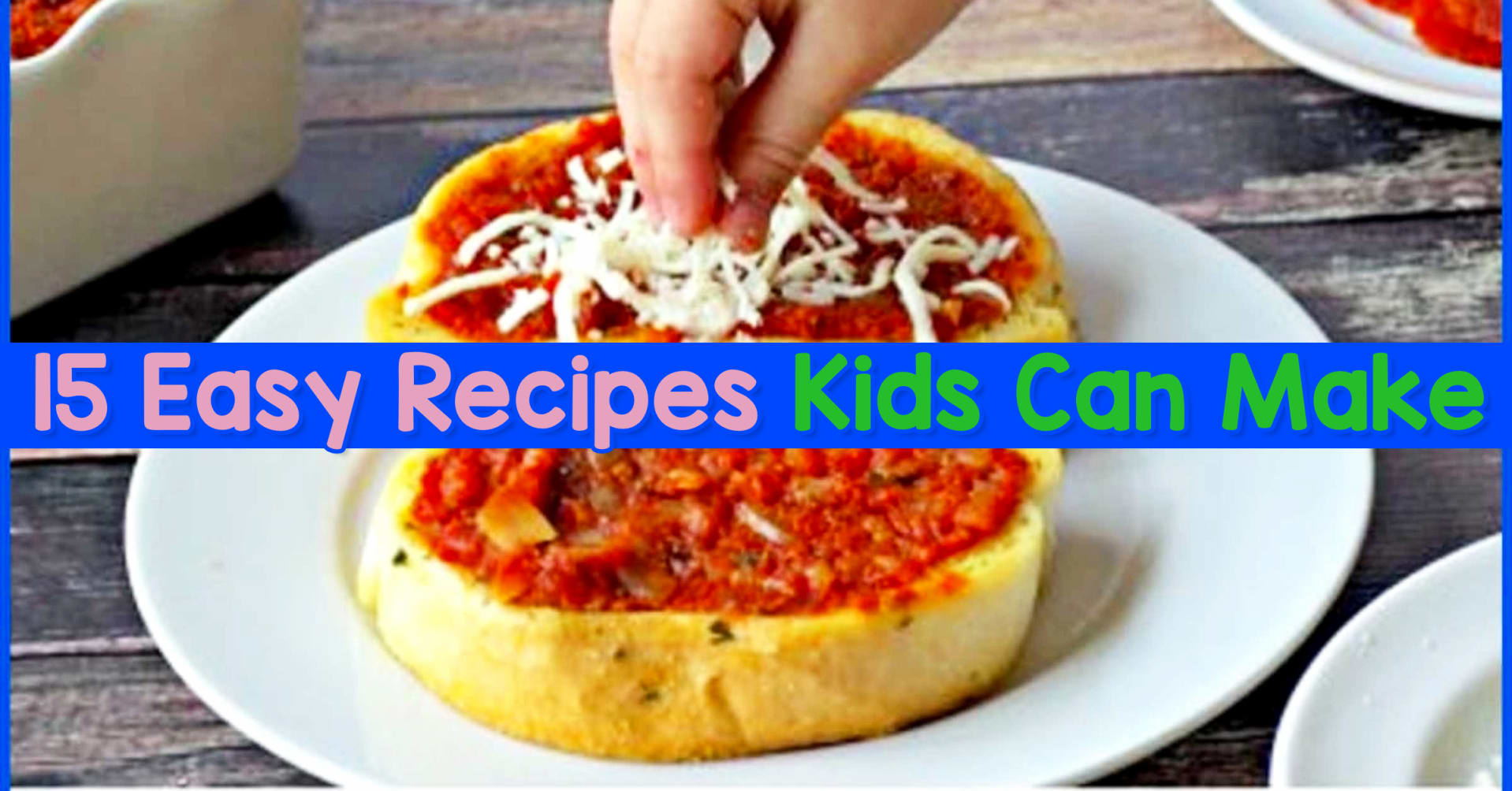 easy recipes kids can make