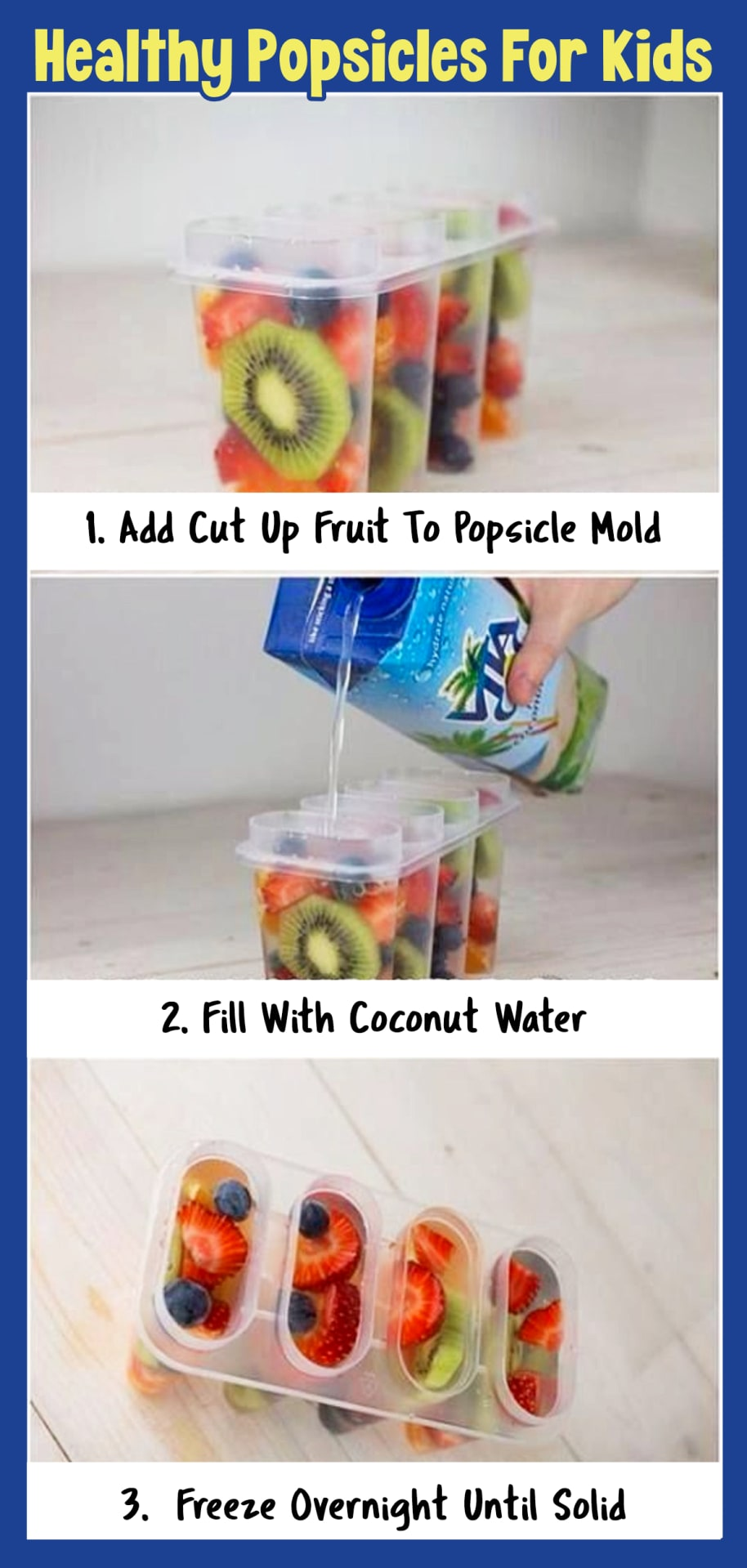 Healthy Popsicle Recipes for Kids - homemade clean eating Healthy Snacks for Kids - quick healthy snacks for kids on the go, for kids to make and healthy snacks for kids lunch boxes at school - easy and fun healthy snacks for toddlers and preschoolers - fun school snacks for kids too!