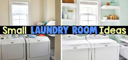 Small Laundry Room Ideas – Space Saving Ideas for Tiny Laundry Rooms (Creative and Simple DIY)
