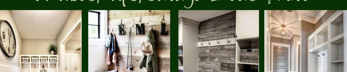 Mudroom Ideas – DIY Rustic Farmhouse Mudroom Decor, Storage and Mud Room Designs We Love