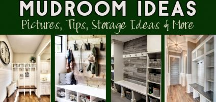 Mudroom Ideas – DIY Rustic Farmhouse Mudroom Decor, Storage and Mud Room Designs We Love