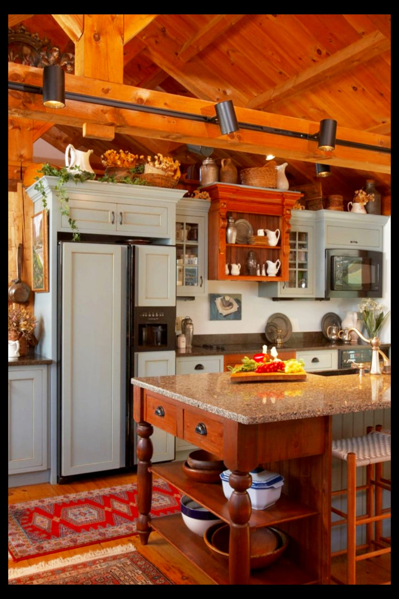 Farmhouse Kitchen Ideas & PICTURES of Country Farmhouse ... on Rustic:yucvisfte_S= Farmhouse Kitchen Ideas  id=28081